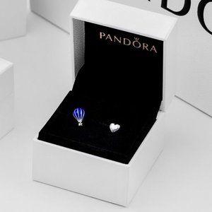 Pandora Heart hot air balloon Stud Earrings